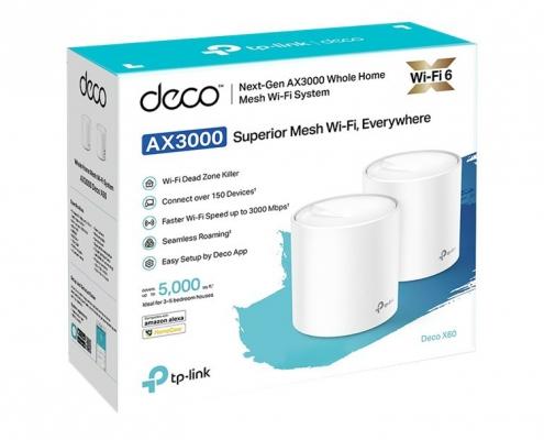 TP-Link Deco X60 2er Pack -Boxshot