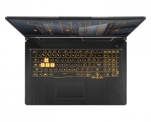 ASUS TUF Gaming A17 FA706QM -birdseye