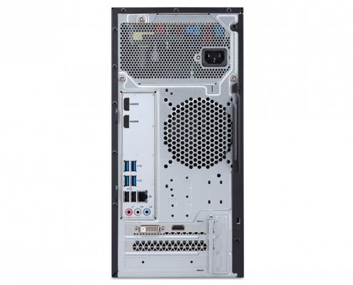 Acer Aspire TC-895 -hinten