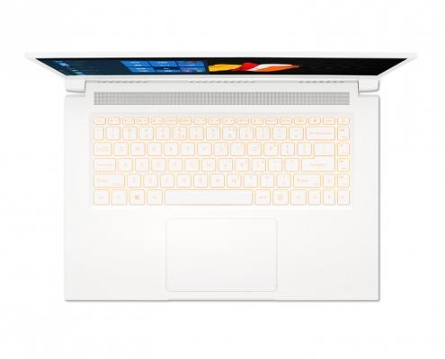Acer ConceptD 3 CN315-72G -birdseye