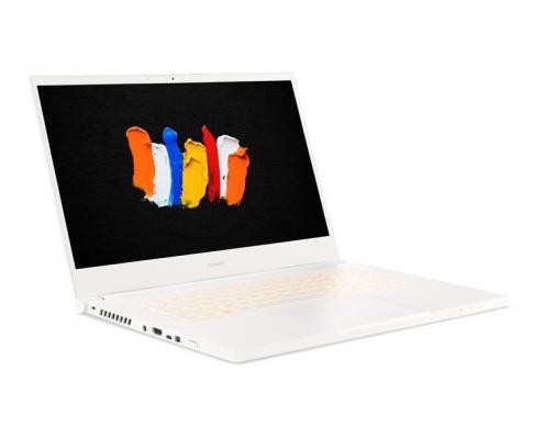 Acer ConceptD 3 CN315-72G -seitlich links