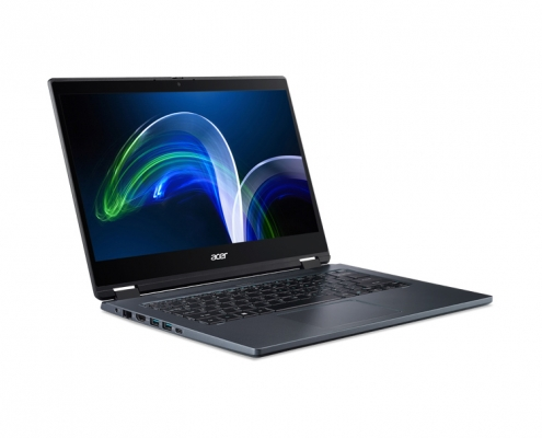 Acer TravelMate Spin P4 TMP414RN -seitlich links