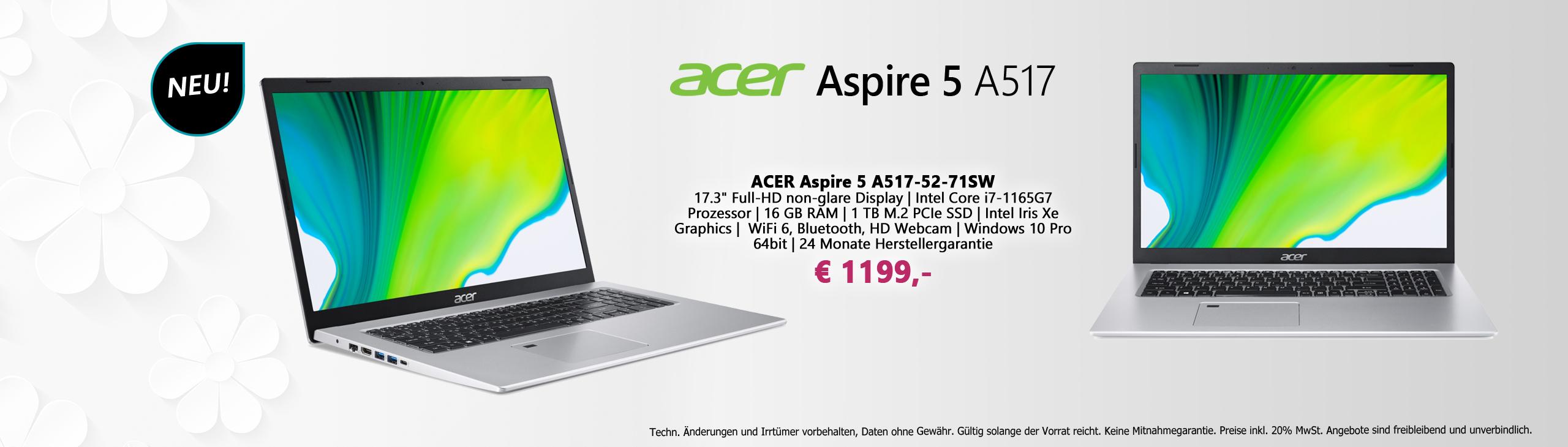 Banner Acer Aspire 5 052021