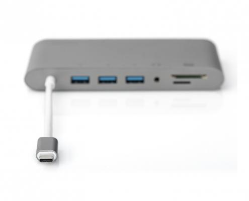 Digitus DA-70875 Universal Docking Station -USB-C