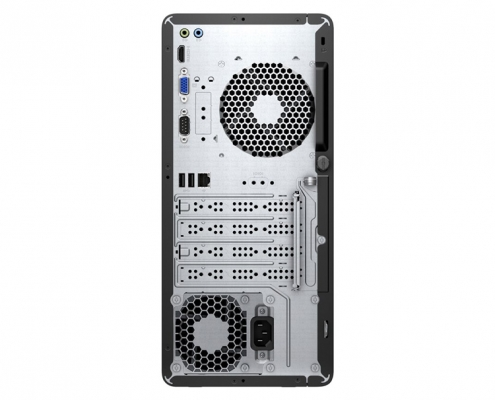 HP 295 G6 Micro Tower -hinten