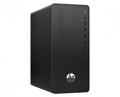 HP 295 G6 Micro Tower -seitlich links
