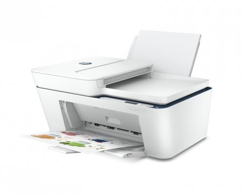 HP DeskJet 4130e All-in-One Drucker -seitlich rechts