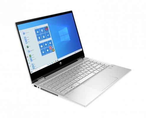 HP Pavilion x360 14-dw1657ng -seitlich links