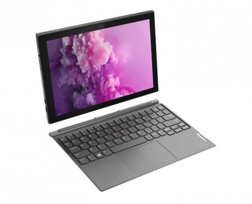 Lenovo IdeaPad Duet 3 -seitlich oben