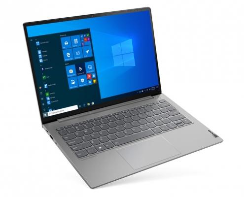 Lenovo ThinkBook 13s G3 -seitlich oben
