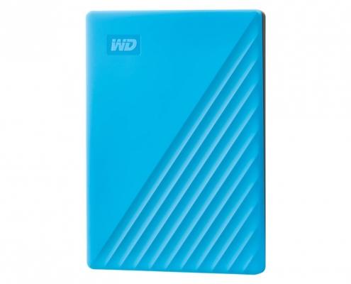 WD My Passport Portable blau