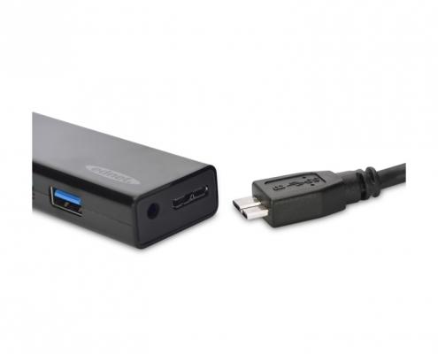 ednet USB 3.0 Hub 4-Port -Detail