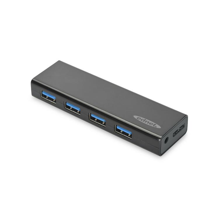 ednet USB 3.0 Hub 4-Port