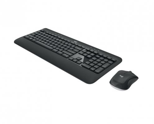Logitech MK540 Kabelloses Tastatur-Maus-Set -seitlich