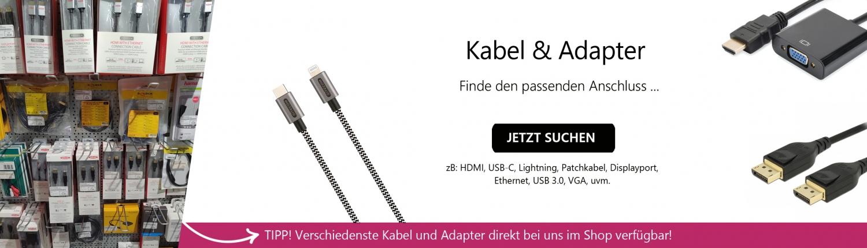Banner Kabel und Adapter