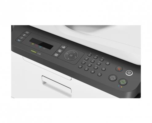 HP Color Laser MFP 179fwg -Detail Bedienfeld