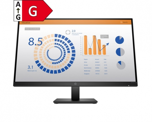 HP P27q G4 -Energieeffizienzklasse G