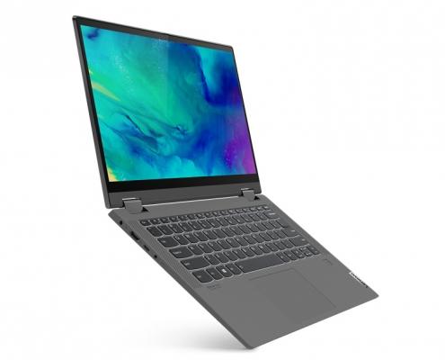 Lenovo IdeaPad Flex 5 14ALC05 graphite -seitlich links