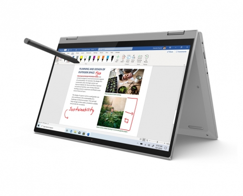 Lenovo IdeaPad Flex 5 14ALC05 platinum -optionaler Pen