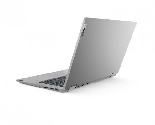 Lenovo IdeaPad Flex 5 14ALC05 platinum -seitlich hinten