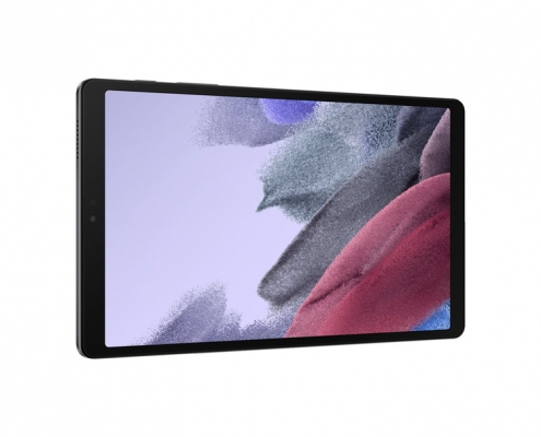 Samsung Galaxy Tab A7 Lite T220 T225 dark gray -quer