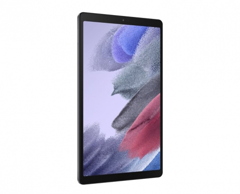Samsung Galaxy Tab A7 Lite T220 T225 dark gray -seitlich links