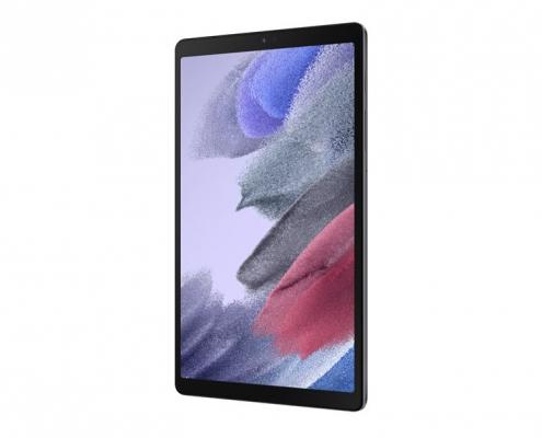 Samsung Galaxy Tab A7 Lite T220 T225 dark gray -seitlich rechts