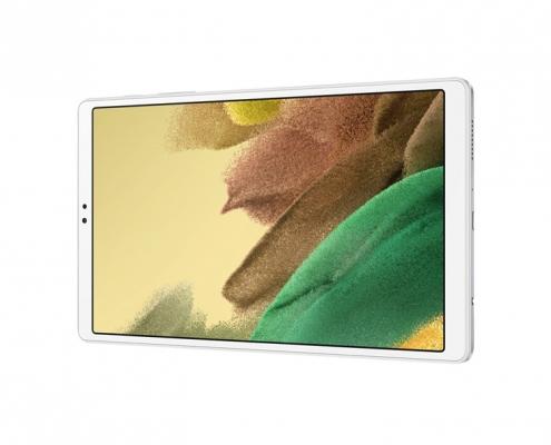 Samsung Galaxy Tab A7 Lite T220 T225 silver -quer
