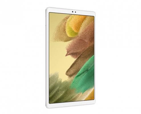 Samsung Galaxy Tab A7 Lite T220 T225 silver -seitlich links