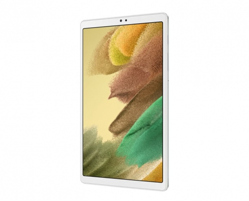 Samsung Galaxy Tab A7 Lite T220 T225 silver -seitlich rechts