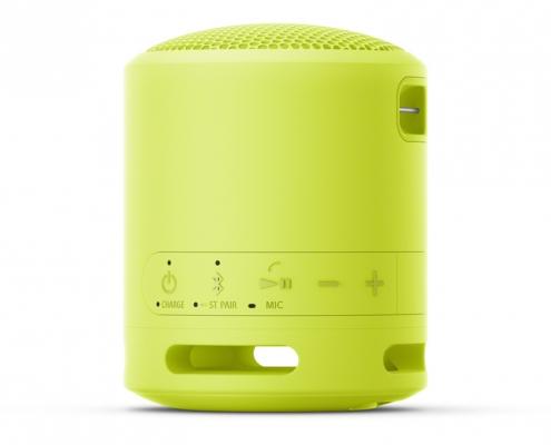 Sony SRS-XB13 lemon yellow -Seite
