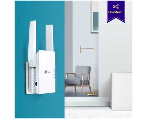 TP-Link RE605X AX1800 Wi-Fi 6 Range Extender -Anwendungsbeispiel