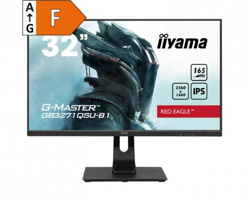 iiyama G-Master GB3271QSU-B1 -Energieeffizienzklasse F