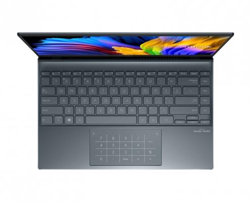 ASUS ZenBook 14 UM425UA -birdseye
