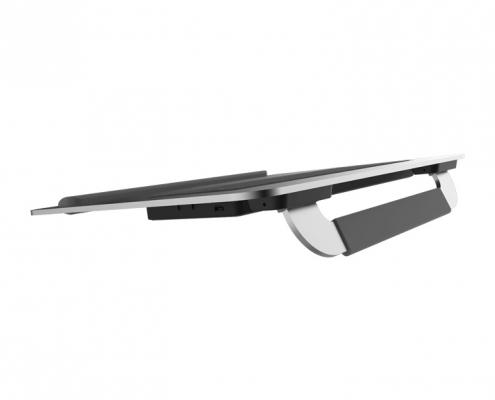 Cooler Master Notepal U150R -seitlich hinten