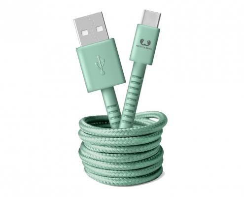 Fresh 'n Rebel USB-C Kabel mistymint