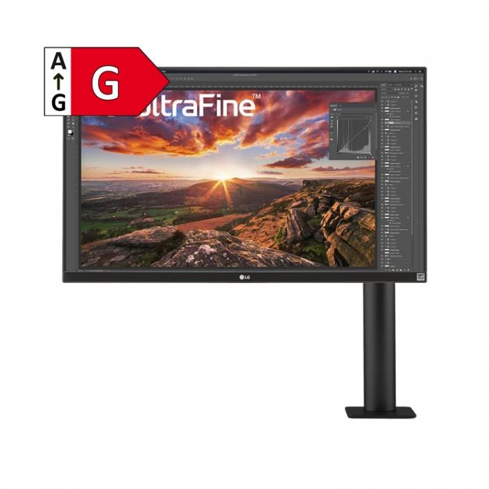 LG UltraFine 27UN880-B -Energieeffizienzklasse G
