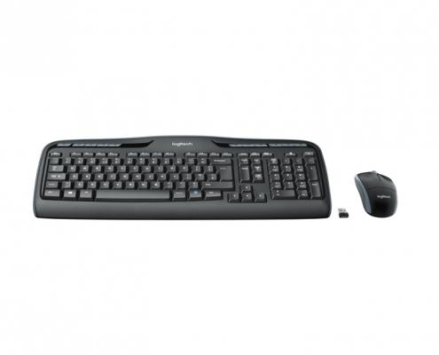 Logitech MK330 Kabelloses Tastatur-Maus-Set