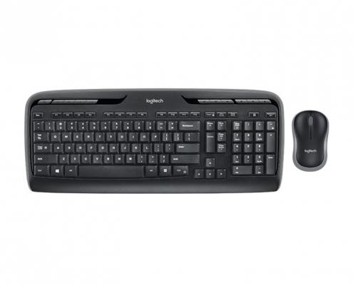 Logitech MK330 Kabelloses Tastatur-Maus-Set -oben