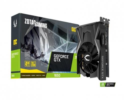 Zotac Gaming GeForce GTX 1650 OC GDDR6 4GB