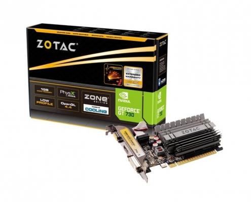 Zotac GeForce GT 730 Zone Edition passiv 2GB