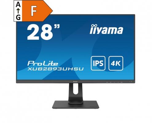 iiyama ProLite XUB2893UHSU-B1 -Energieeffizienzklasse F