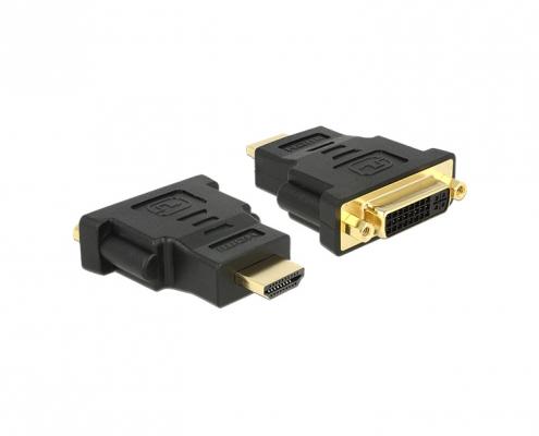 Delock 65467 Adapter HDMI ST auf DVI BU