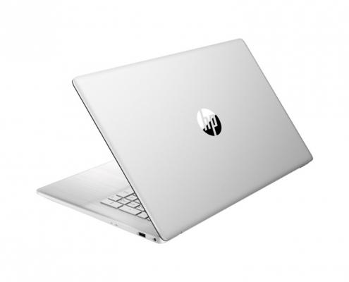 HP 17-cn0000ng Natural Silver -seitlich hinten