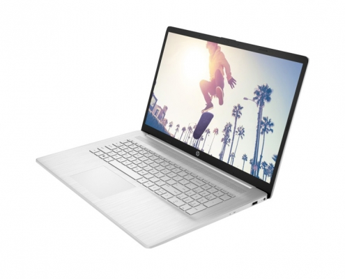 HP 17-cn0000ng Natural Silver -seitlich rechts
