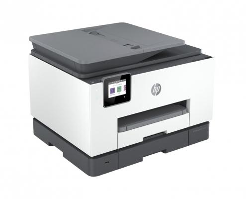 HP OfficeJet Pro 9022e -seitlich links