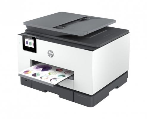 HP OfficeJet Pro 9022e -seitlich rechts