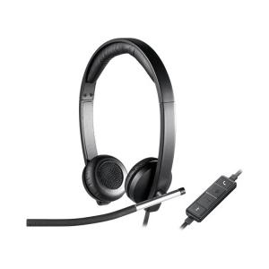 Logitech H650e Stereo USB Headset -Bedienteil