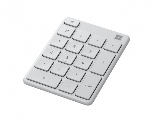 Microsoft Wireless Number Pad -seitlich
