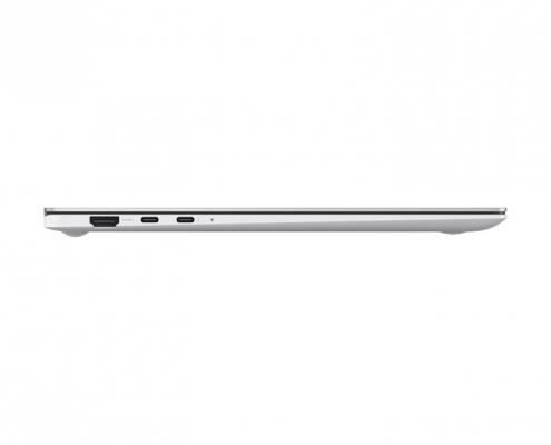 Samsung Galaxy Book Pro 15 Mystic Silver -Seite links